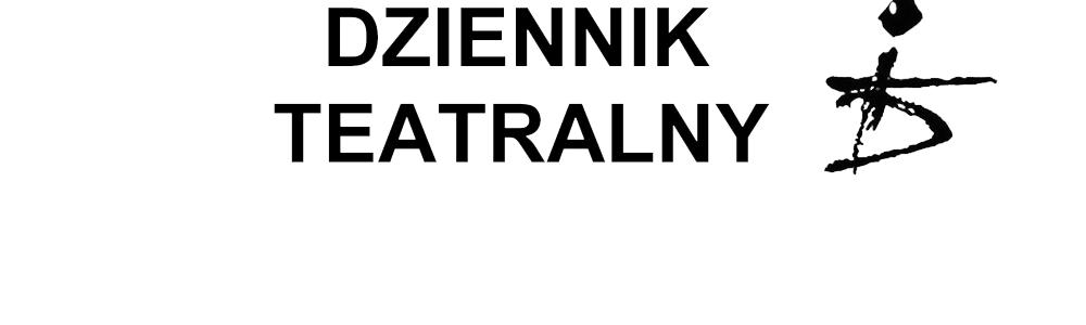 Dziennik Teatralny